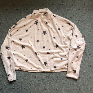 Abound Star Mock Neck Sweater